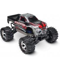 Stampede 4x4 XL-5 TQ (incl battery/charger), Silver