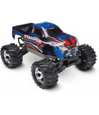 Stampede 4x4 XL-5 TQ (incl battery/charger), Blue