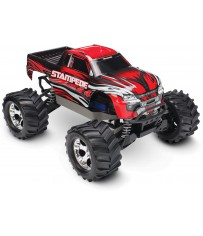 Stampede 4x4 XL-5 TQ (incl battery/charger), Red