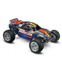 Nitro-Rustler 2.4GHz TQi TSM, Silver Blue