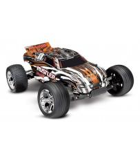 Rustler XL-5 TQ (incl battery/charger), Orange