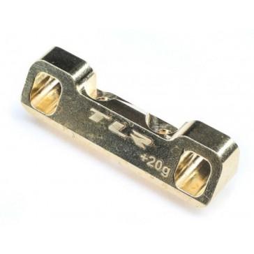 C Pivot Block, Brass: 22 5.0