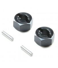 Hex Set, Rear Axle, Aluminum: Mini-T 2.0