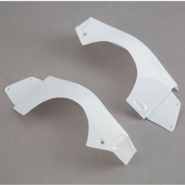 L/R Rear Fender Set, White: Baja Rey