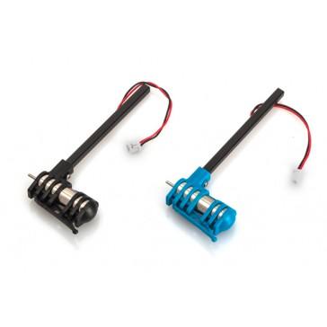 Motorset - 2 Motors incl. Connection rods, cable color red
