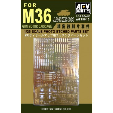 Photo-etched Set for M36 1/35