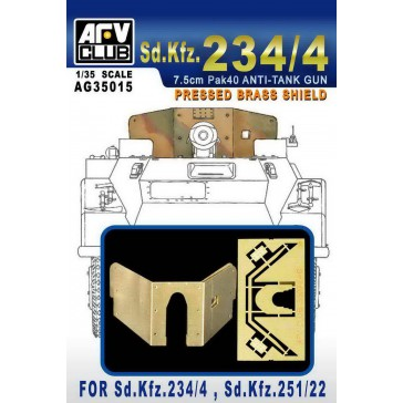 Brass Shield Sd.Kfz.234/4 1/35