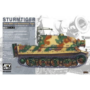 Sturm Tiger 38cm RW61 1/48