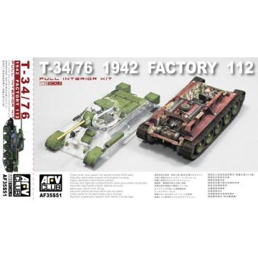 T-34 / 76 + Inrerior 1/35