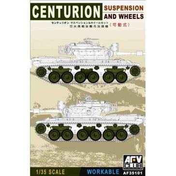 Susp. & Wheels Centurion 1/35