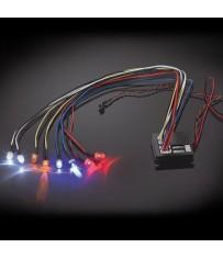 FLASHING LIGHT KIT MULTIPLE FUNCTIONS 8-LED LIGHT
