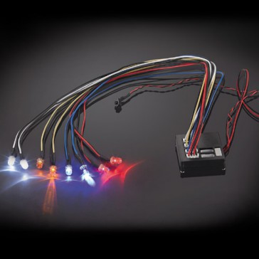 FLASHING LIGHT KIT MULTIPLE FUNCTIONS 8-LED LIGHT