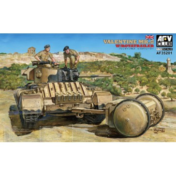 Valentine Mk III Rotatrailer 1/35