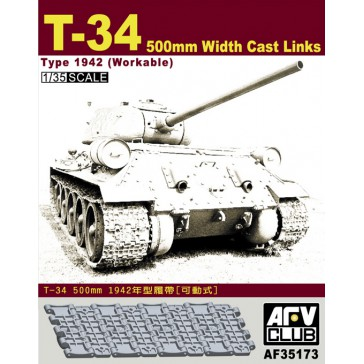 T-34 50cm Cast Track 1/35
