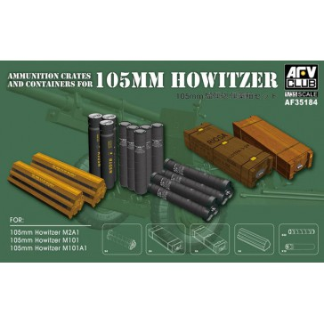 105mm M102 Ammo Crates&Acc.1/35