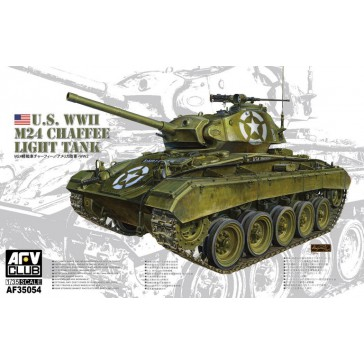WWII M24 Chaffee Light Tank 1/35