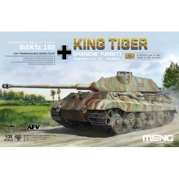 German Heavy Tank Sd.Kfz.182 King Tiger (Porsche Turret) - 1:35