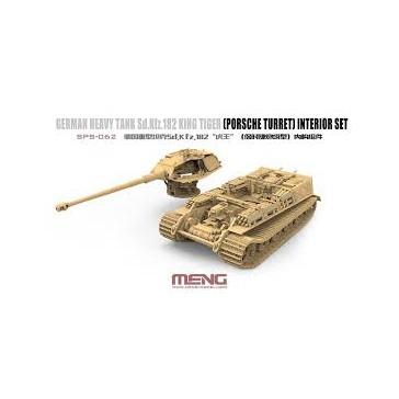 Meng Model Meng 1 35 Sd Kfz 182 King Tiger Porsche Turret Int Set