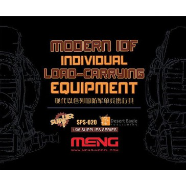 Modern IDF Individual Load-Carrying Equipment (Resin) - 1:35