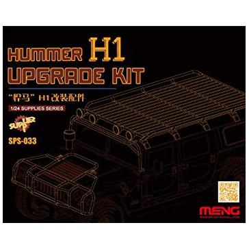 HUMMER H1 Upgrade Kit (Resin)  - 1:24