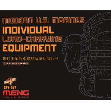 Modern U.S.Marines Individual Load-Carry Carrying Equip.(Resin) -1:35