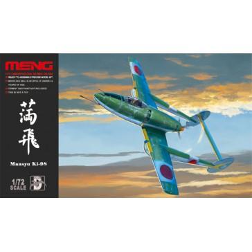MANSYU Ki-98 ATTACK Aircraft  - 1:72