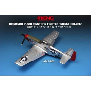 "American P-51D Mustang Fighter ""Sweet Arlene""(Assembled Model) - 1:48"