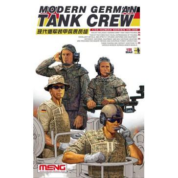 Modern German Tank Crew  - 1:35