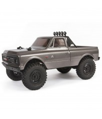 1/24 SCX24 1967 Chevrolet C10 4WD Truck Brushed RTR, Silver