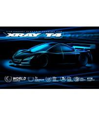 T4 - 2020 SPECS - 1/10 LUXURY ELECTRIC TC Graphite edition