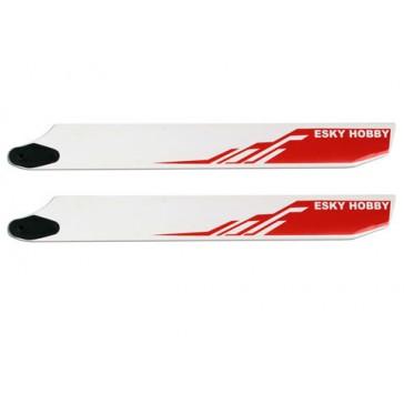 DISC.. RED Wooden blade 275*32*4.5mm (EK4-0004) for HBK3/4
