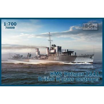 HMS Hotspur 1941 Brit. H-class1/700