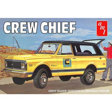 '72 Chevy Blazer Crew Chief    1/25