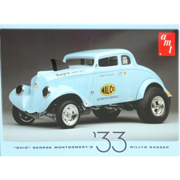 Ohio George 1933 Willys Gasser 1/25