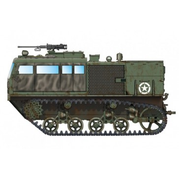 M4 High Speed Tractor 90mm 1/72