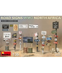 Road Signs WW2 North Africa 1:35