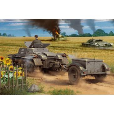 Munitionsch.Kpwagen with trail.1/35