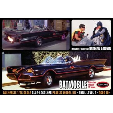 '66 Batmobile with figures     1/25