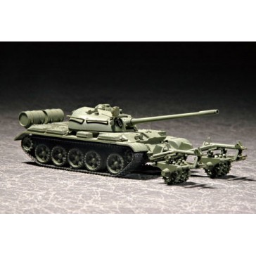 T-55 with KMT-5 1/72