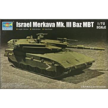 Israel Merkava Mk III BAZ MBT 1/72
