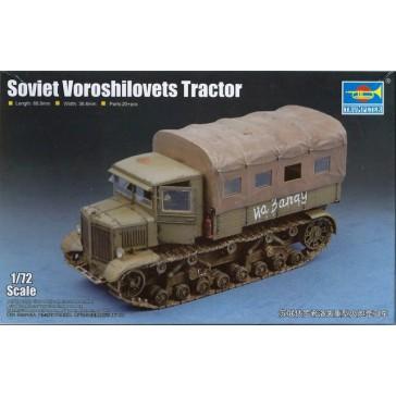Soviet Voroshilovets Tractor 1/72