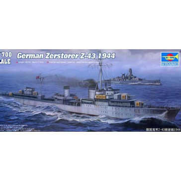 German Zestro.Z-43 1/700