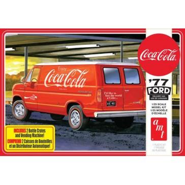 Ford Van & Vending Machine Coke 1/25