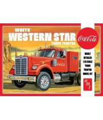 White Western Star Semi Coca 1/25