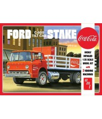 Ford C600 Stake Bed & Coca Machine 1/25