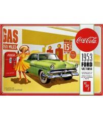 Ford Victoria HT & Coca Machine  1/25
