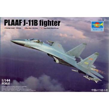 PLAAF J-11B fighter 1/144