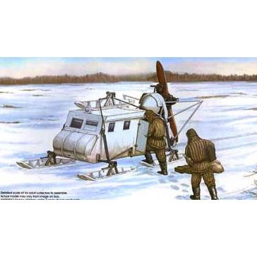 Soviet NKL 16 Armoured Aerosan 1/35