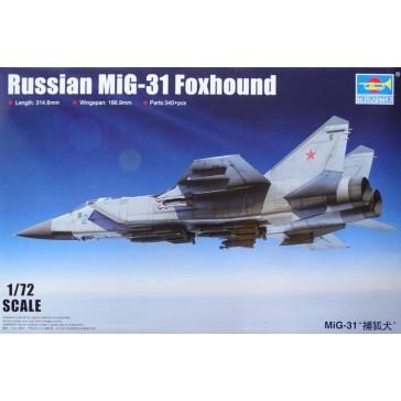 Russian Mig-31 Foxhound 1/72