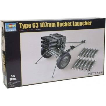 PLA Type 63 107mm Rocket Launch.1/6
